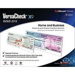 VersaCheck® X9 Gold 2018, 3 User, Traditional Disc