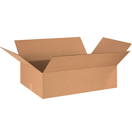 "Office Depot® Brand Long Corrugated Boxes, 10""H x 10""W x 32""D, Kraft, Bundle Of 20"