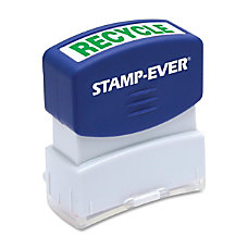 Stamp Ever Pre inked Recycled Stamp