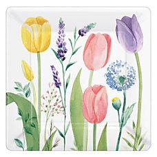 Amscan Spring Tulip Garden 7 Square