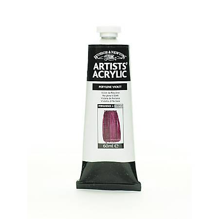 Winsor & Newton Professional Acrylic Colors, 60 mL, Perylene Violet, 470