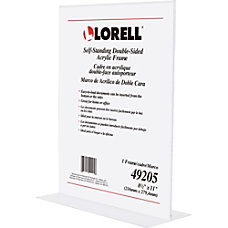 Lorell Stand Up Sign Holder 11
