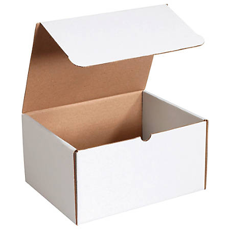 """Office Depot® Brand Literature Mailers, 12 1/8"""" x 9 1/4"""" x 6 1/2"""", White, Pack Of 50"""