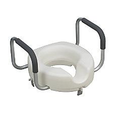 DMI Raised Locking Toilet Seat With
