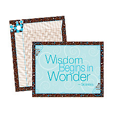 Barker Creek Chart Set Wisdom Wonder