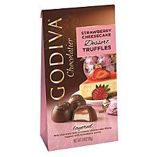 Godiva Strawberry Cheesecake Dessert Truffles 425