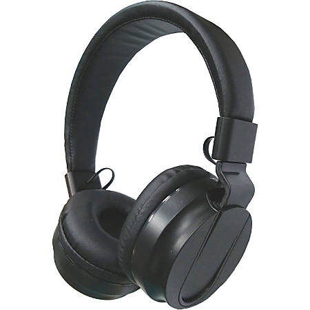 Compucessory Deluxe Stereo Headphones - Stereo - Black - Mini-phone - Wired - 32 Ohm - 20 Hz 20 kHz - Over-the-head - Binaural - Circumaural - 5.92 ft Cable