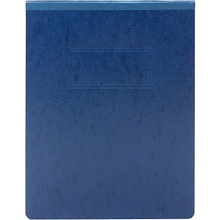 """Smead PressGuard® Report Covers - Letter - 8 1/2"""" x 11"""" Sheet Size - 500 Sheet Capacity - Prong Fastener - 2"""" Fastener Capacity for Folder - 20 pt. Folder Thickness - Pressguard - Dark Blue - Recycled - 1 Each"""