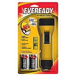 Eveready Industrial LED Flashlight Yellow