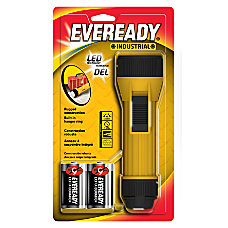 Eveready Industrial 2D LED Flashlight Yellow