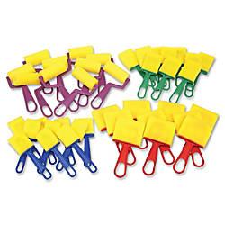 Creativity Street Foam BrushesRollers Classroom Pack