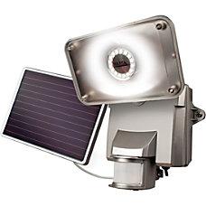 Maxsa Motion Activated Solar Security Floodlight