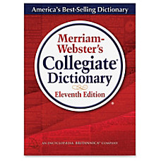 Merriam Webster PrintedElectronic Collegiate Dictionary 11th