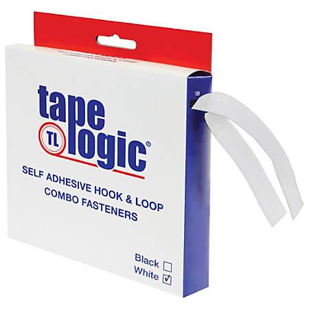 "Tape Logic® Combo Pack, Strip, 1"" x 15', White"