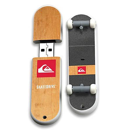 Quiksilver Pusher SkateDrive USB Flash Drive, 16GB