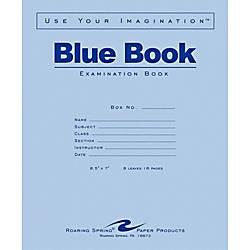 Roaring Spring Blue Book 8 sheet
