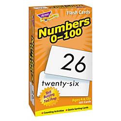 Trend Numbers 0 100 Flash Cards