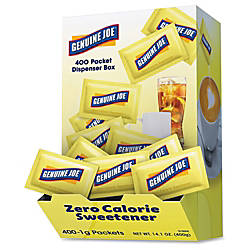 Genuine Joe Sucralose Zero Calorie Sweetener