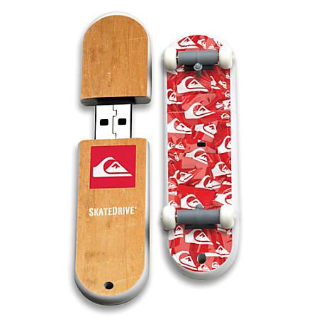 Quiksilver Smash Up SkateDrive USB Flash Drive, 16GB