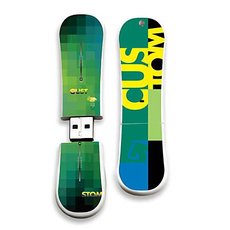 Burton Custom X 11 SnowDrive USB Flash Drive, 16GB