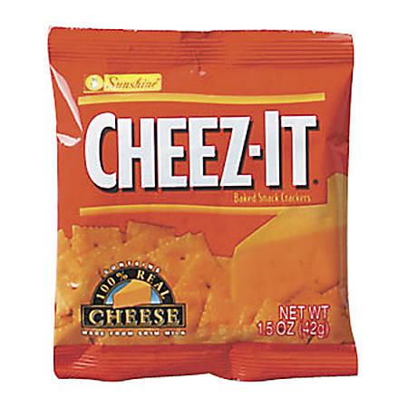 Keebler® Cheez-It Crackers, 1.5 Oz, Pack Of 8