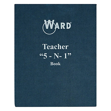 Ward 5-In-1 Grade Books, Blue, Pack Of 3