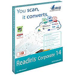 Readiris Corporate 14 for Windows Download