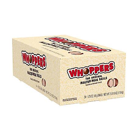 Whoppers Malted Milk Balls, 1.75-Oz Box