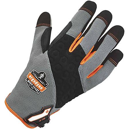 ProFlex 710 Heavy-Duty Utility Gloves, Medium, Gray, 1 Pair