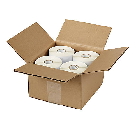 """Avery® Permanent Thermal Printer Water-Resistant Shipping Labels, 4157, 4"""" x 6"""", White, Pack Of 880"""