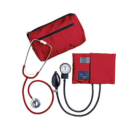 MABIS MatchMates® Home Blood Pressure Kit, Red