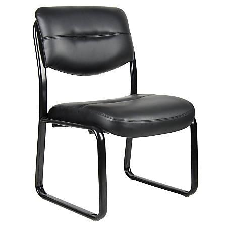 Boss Guest Chair, Black/Black