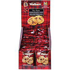 Office Snax Chocolate Chip Shortbread Cookies