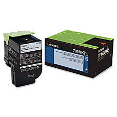 Lexmark 70C1HK0 High Yield Black Toner