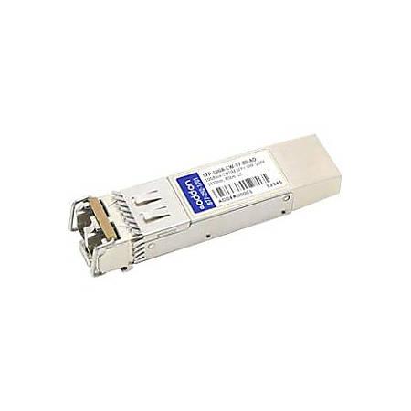 AddOn MSA and TAA Compliant 10GBase-CWDM SFP+ Transceiver (SMF, 1370nm, 80km, LC, DOM)