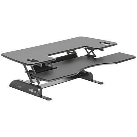 """VARIDESK ProPlus Manual Standing Desk Converter, 48""""W, Black"""