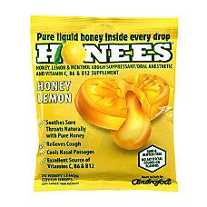 Honees Cough Drops Honey Lemon 20