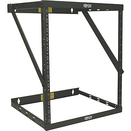 Tripp Lite 12U Wall Mount Open Frame Rack Cabinet Wallmount Heavy Duty