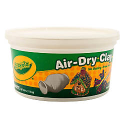 Crayola Air Dry Clay White 25