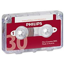 Philips Speech Mini Dictation Cassette 10