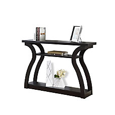 Monarch Specialties Console Table Curved 3