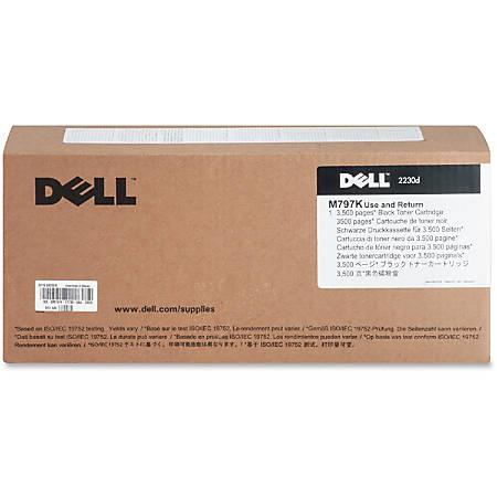 Dell™ M797K Use & Return High-Yield Black Toner Cartridge