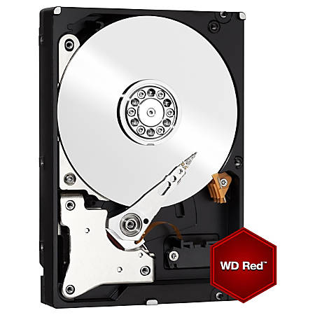 "WD Red™ 3TB 3.5"" Internal Hard Drive For NAS, 64MB Cache, SATA/600, WD30EFRX"