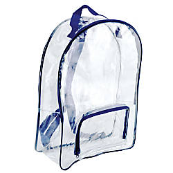 Bags Of Bags Security Backpacks Clear