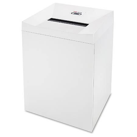 "HSM Pure 630 Strip-Cut Shredder - Continuous Shredder - Strip Cut - 42 Per Pass - for shredding Staples, Paper Clip, Paper, Credit Card, CD, DVD - 0.250"" Shred Size - P-2 - 11.80"" Throat - 34.30 gal Wastebin Capacity - White"