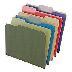 Pendaflex Earthwise Color File Folders 13