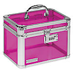 "Vaultz® Personal Storage Box, 7 3/4""H x 10""W x 7 1/4""D, Assorted Colors (No Color Choice)"