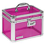 """Vaultz® Personal Storage Box, 7 3/4""""H x 10""""W x 7 1/4""""D, Assorted Colors (No Color Choice)"""