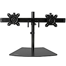 StarTechcom Dual Monitor Stand Monitor Mount