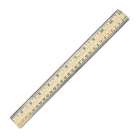 Westcott Metric Ruler With Metal Edge 12 by Office Depot ...